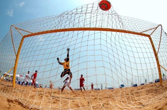 futebol praia - Campeonato de beach soccer em Santa Teresinha