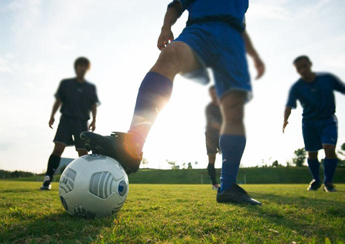 futebol - Joelhos e coxas sofrem as principais lesões do futebol