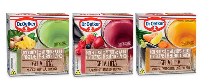 gelatina - Dr. Oetker lança novas linhas para alimentação saudável