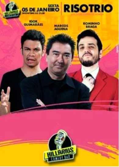 humor - Santo André recebe temporada de Stand Up Comedy