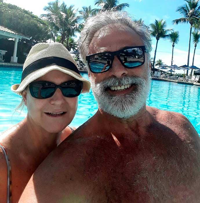oscar magrini e Matilde Mastrangi - Oscar Magrini e Matilde Mastrangi curtem férias