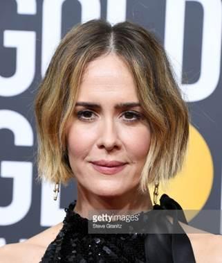 sarah paulson web  - Celebridades usam joias Tiffany no 75º Globo de Ouro