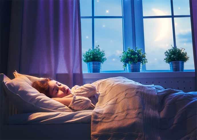 sono infantil 2 - Crianças devem ter rotina regular de sono mesmo nas férias