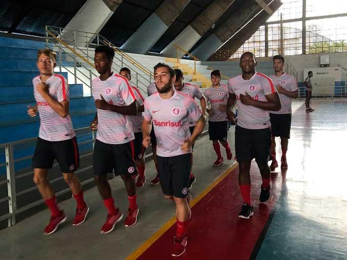 treino 1201II - Inter reencontra o Boavista (RJ) pela 3ª fase da Copa São Paulo