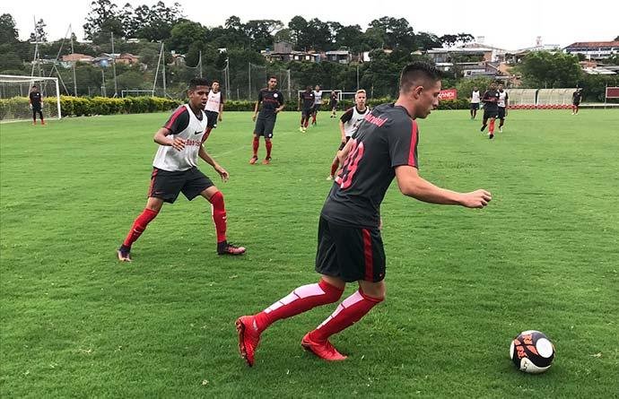 treinosub19 0201 - Primeiro jogo dos juniores do Inter na Copa São Paulo será na quinta-feira (04/01)