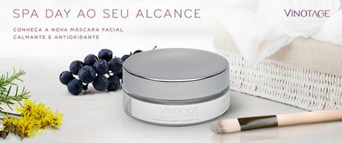 Photo of Nova máscara facial Vinotage
