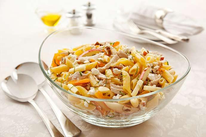 77salada pena peru queijo de cabra - Que tal uma salada fria para deixar seu Carnaval ainda mais gostoso?