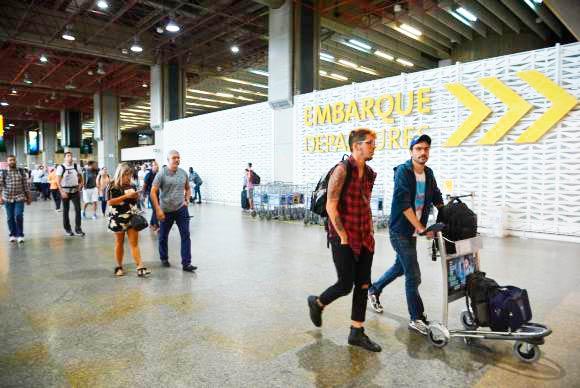 Aeroporto de Guarulhos é considerado o melhor do país em sua categoria - Aeroporto de Guarulhos é considerado o melhor do país em sua categoria