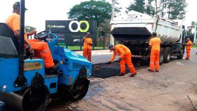 Photo of Recuperação da pavimentação das ruas segue pelo município