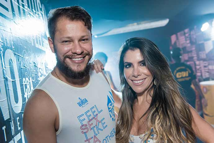 Alan Salles e Stefania Brito 8 - Camarote Salvador reúne celebridades