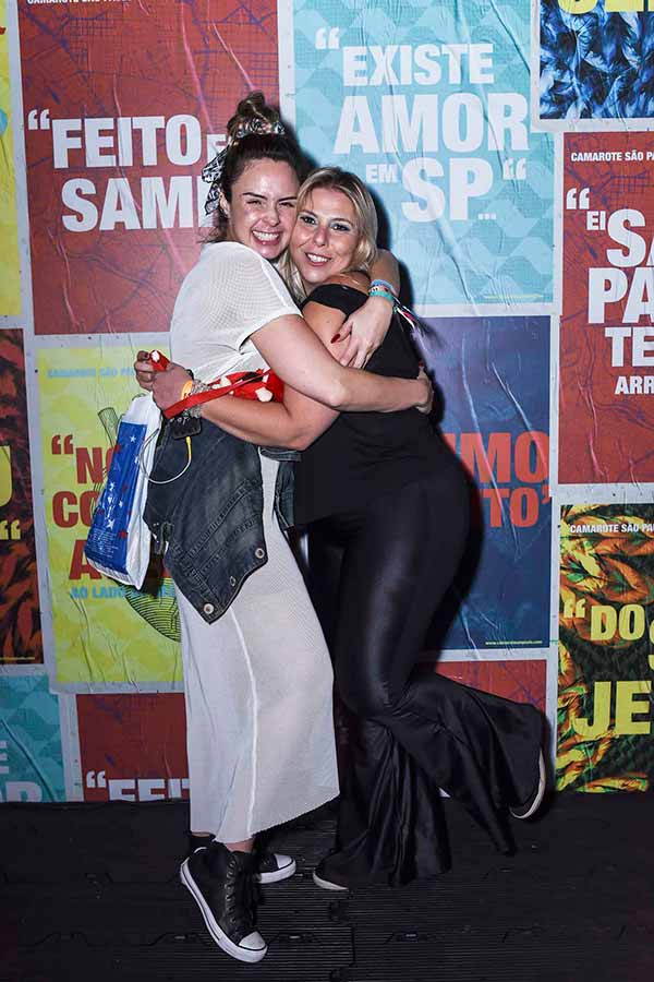 Ana Paula Renault e Leticia Cecchin 0754 - Presenças no Camarote São Paulo na noite deste sábado, dia 10
