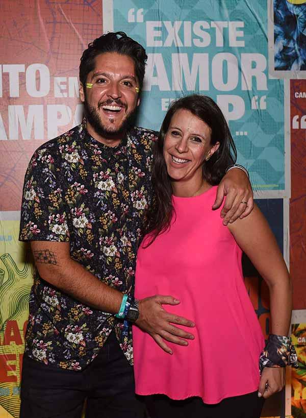 Andre E Livia Vasco 0598 - Presenças no Camarote São Paulo na noite deste sábado, dia 10