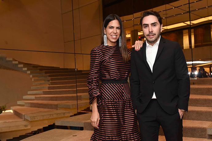 Andrea Quinteiro e Thiago Costa Rego 254 - Famosos prestigiam inauguração da nova nk de Natalie Klein