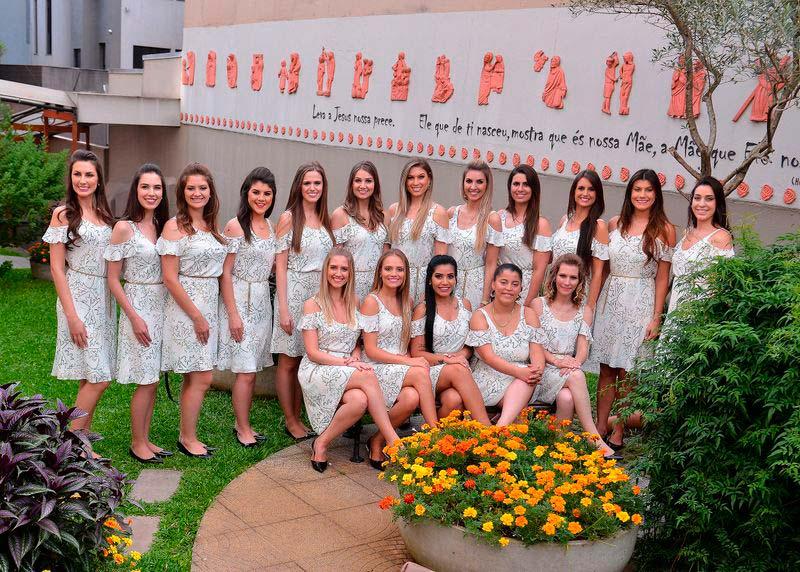 As candidatas à rainha e princesas da Festa Nacional da Uva 2019 - Candidatas à soberana da Festa da Uva 2019 fazem tour turístico em Caxias do Sul
