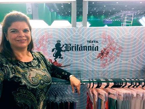 CEO da Britânnia Têxtil Ana Cristina Veloso - Britânnia Têxtil no Première Vision Paris SS 19