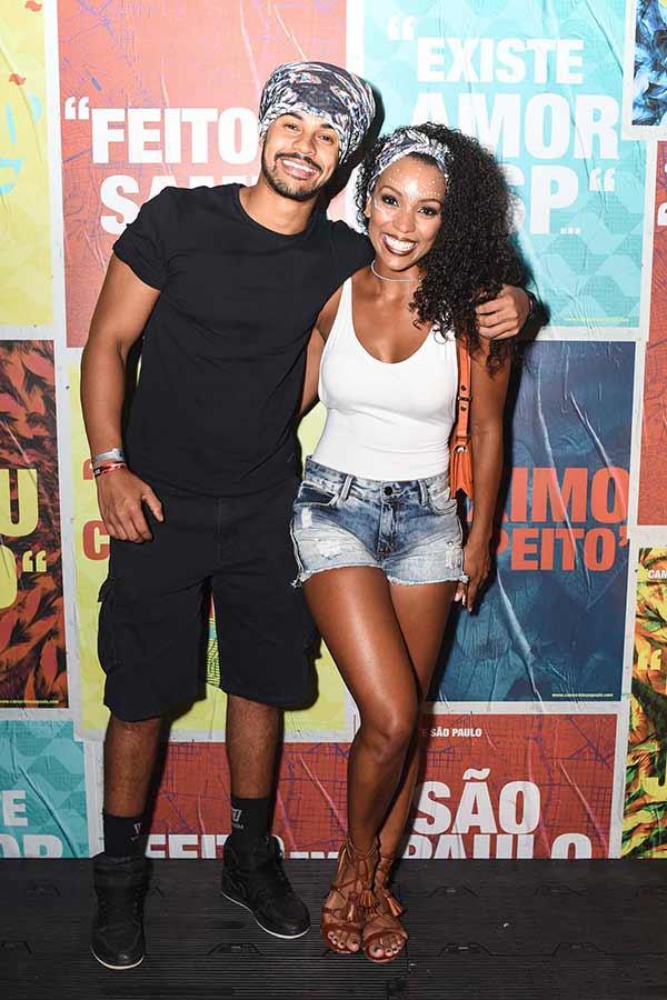 Camila Lobo E Caio Duarte 0238 - Celebridades no Camarote São Paulo