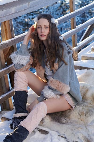 Revista News Campanha-Lua-Luá-finlandia1 Thairine Garcia posa na Finlândia para o Inverno 2018 da Lua Luá