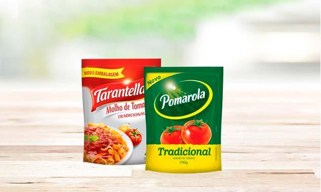 Cargill embalagem - Cargill lança mini sachê de molho de tomate para quem busca menor porção