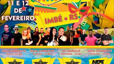 Carnaval 2018 em Imbé 390x220 - Atrações do Carnaval 2018 em Imbé