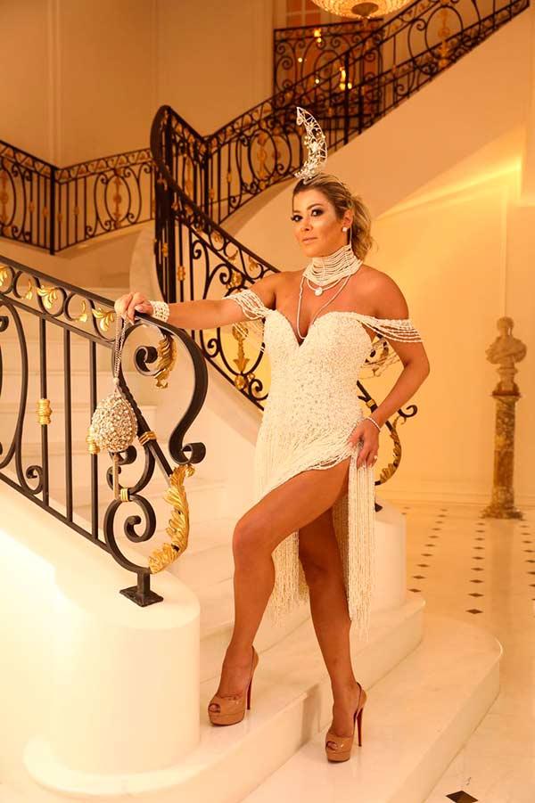 Claudia Martinez - Fotos Baile da Vogue