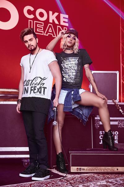 Coca Cola Jeans4 - Pabllo Vittar, Luan Santana, Manu Gavassi, Di Ferrero e Lucy Alves juntos para Coca-Cola Jeans