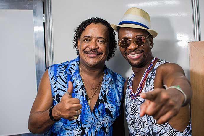 Compadre Washington e Beto Jamaica - Camarote Salvador reúne celebridades