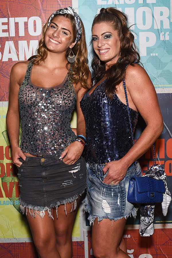 Elaine Mickely e Luma Baricelli 0366 - Celebridades no Camarote São Paulo