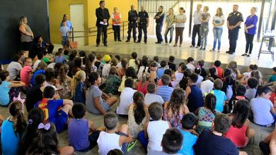 Escola Municipal de Ensino Fundamental Alberto Pasqualini 2 390x220 - EMEF Alberto Pasqualini recebe abertura oficial do programa Volta Às Aulas