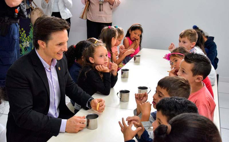 Escola Municipal de Ensino Fundamental Cidade Nova 1 - Escola Municipal Cidade Nova é entregue à comunidade em Caxias do Sul