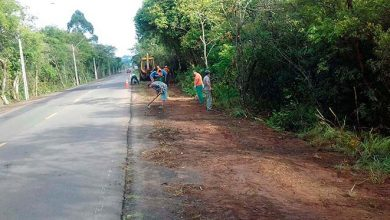 Photo of Secretaria de Obras atua em várias frentes no município nesta semana