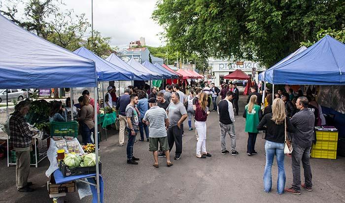 Feira Praça Tiradentes São Leopoldo - Sábado é dia de Feira do Alimento Saudável em São Leopoldo