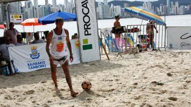 Futevôlei Balneário Camboriú 390x220 - Campeonato Municipal de Futevôlei encerrou o Viva Verão em Balneário Camboriú