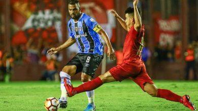 Grêmio e Independiente em Buenos Aires 2018 3 390x220 - GRÊMIO EMPATA E DECISÃO DA RECOPA SERÁ EM PORTO ALEGRE