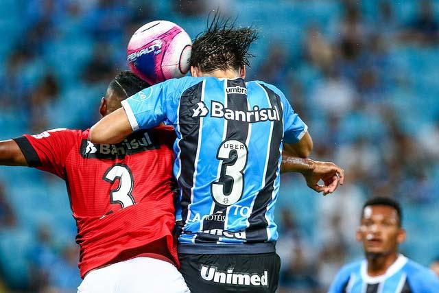 Gremio vence Brasil Pel na Arena 2 - Jogando na Arena, Grêmio derrota o Brasil de Pelotas