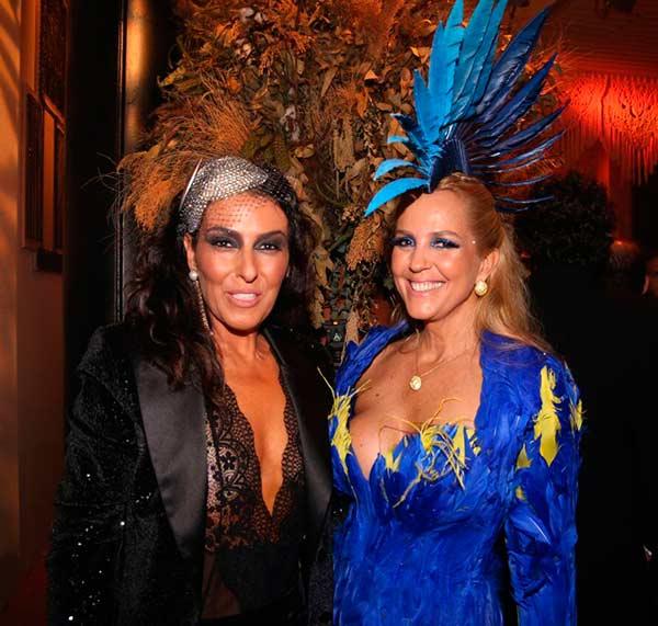 Helena Augusta e Alexandra Fructuoso - Fotos Baile da Vogue