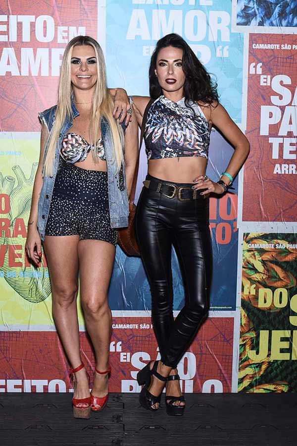 Livia Lemos e Mariana Morais 0057 - Celebridades no Camarote São Paulo