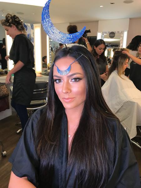 Lu Tranchesi - Salão Marcos Proença teve esquenta para Baile da Vogue