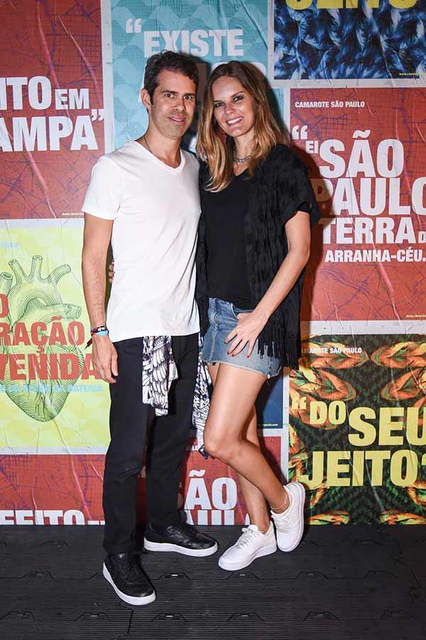 Marcelle Bittar E Luis Guilherme Pinheiro  0143 - Celebridades no Camarote São Paulo