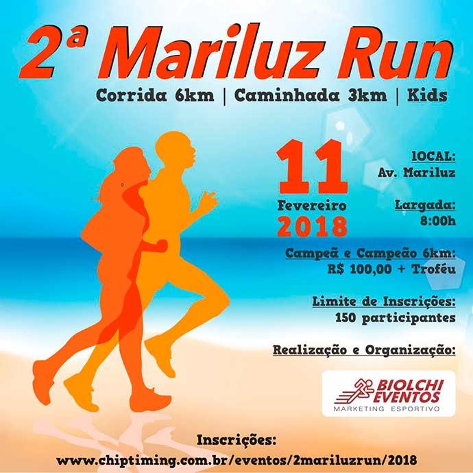 Mariluz Run - 2ª Mariluz Run será neste domingo