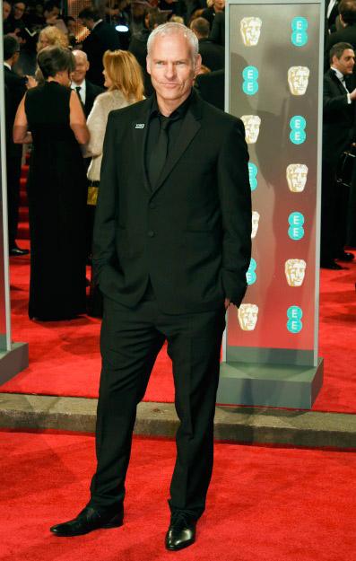 Martin McDonagh - Burberry veste convidados do BAFTA 2018