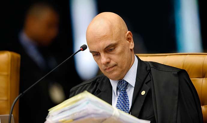 Ministro Alexandre de Moraes - Alexandre de Moraes vota favorável à prisão após recurso em segunda instância