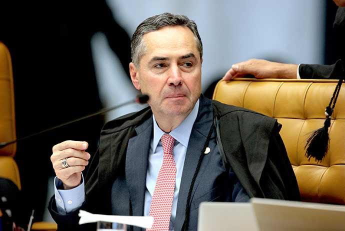 Ministro Roberto Barroso - Barroso intima diretor da PF após ele ter antecipado o resultado de um inquérito policial sobre Temer