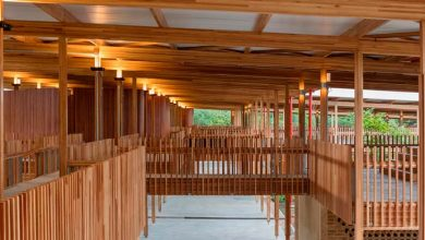 Moradias Infantis 390x220 - 16ª Bienal Internacional de Arquitetura de Veneza tem dois projetos em madeira do Brasil