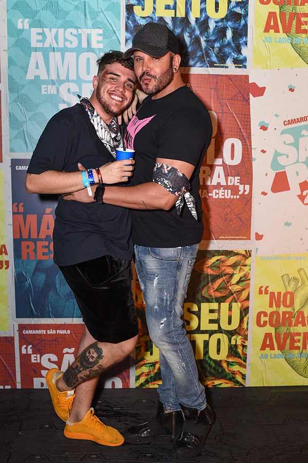 Murilo Henare e Marcos Almeida  0447 - Celebridades no Camarote São Paulo