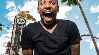 Nego do Borel 390x220 - Nego do Borel se diverte no Universal Orlando Resort
