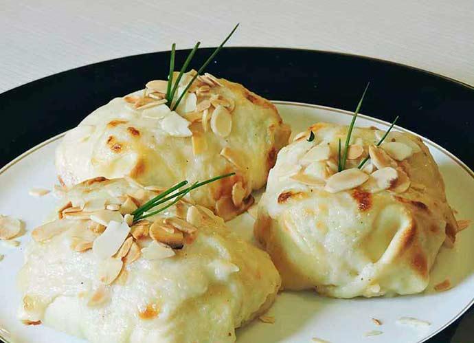 Pacotinhos de lasanha - Receita - Pacotinhos de lasanha