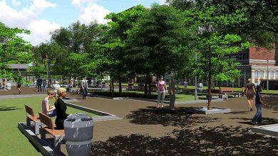 Praça do Imigrante em Novo Hamburgo será um dos espaços revitalizados 390x220 - Prefeitura de Novo Hamburgo lança edital do BID para obras no Centro