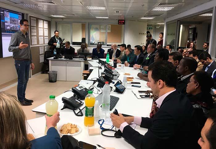 Prefeito Nelson Marchezan Júnior visita o Centro de Comando em Tel Aviv - Israel: Prefeito de Porto Alegre visita Centro de Comando em Tel Aviv