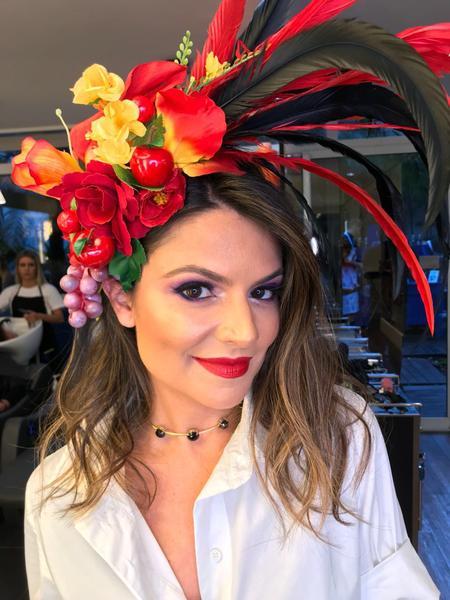 Sophia Alckmin - Salão Marcos Proença teve esquenta para Baile da Vogue