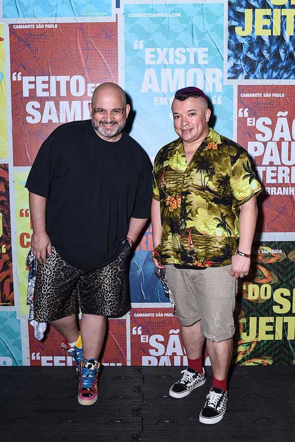 Thidy Alvis E Milton Martins 0034 - Celebridades no Camarote São Paulo